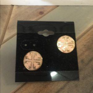 Jewelry - Light pink/ flesh stud earrings